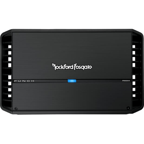 ROCKFORD FOSGATE Punch 4 Channel Car Amplifier, 75 Watt RMS x 4 (P600X4) - Extreme Electronics