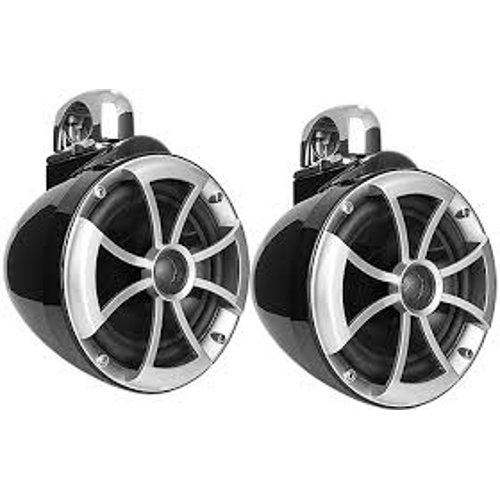 "WET SOUNDS 800W 8"" Marine Tower Speakers, Pair (REV8B) - Extreme Electronics"