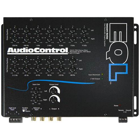 AUDIO CONTROL 2 Channel Equalizer With Level Matching (EQL) - Extreme Electronics