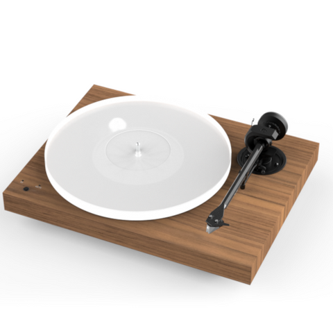 PRO-JECT X1 Turntable, Walnut with Pick it S2 MM Cartridge - Extreme Electronics
