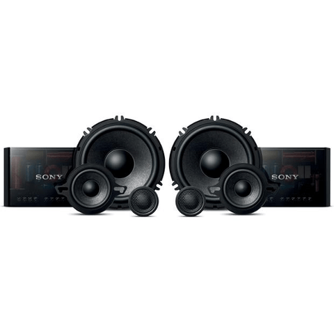 "SONY 6-1/2"" 3 way component speaker system (XSGS1631C) - Extreme Electronics"