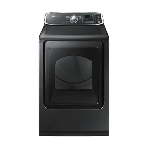 SAMSUNG 7.4 Cu. Ft. Electric Dryer with Steam Sanitize+, Black Stainless Steel (DVE52T7650V/AC) - Extreme Electronics