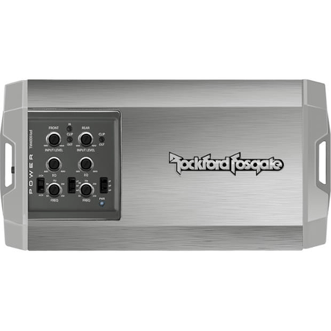 Rockford Fosgate Compact marine/powersports 4-channel amplifier — 100 watts RMS x 4 (TM400X4AD) - Extreme Electronics