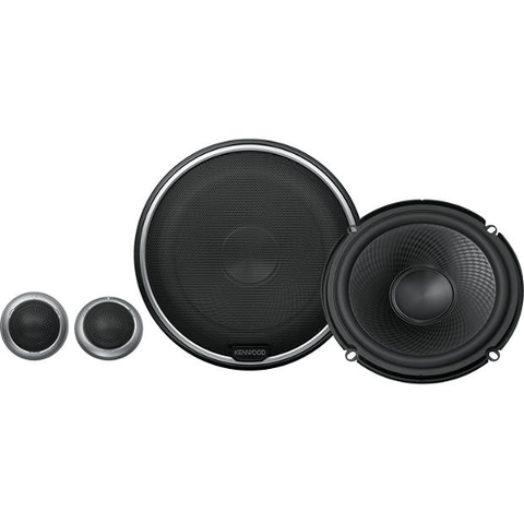 "KENWOOD Performance Series 6 1/2"" Component Speaker System (KFCP710PS) - Extreme Electronics"