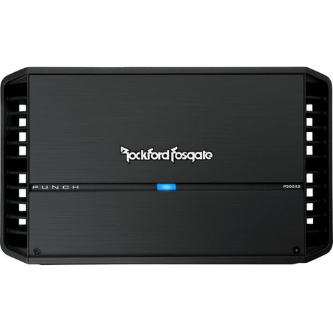 ROCKFORD FOSGATE Punch 2 Channel Car Amplifier 150 Watt RMS x 2 (P500X2) - Extreme Electronics