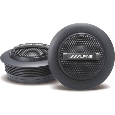 ALPINE S Series 1″ Silk Dome Tweeters, PAIR (SS10TW) - Extreme Electronics