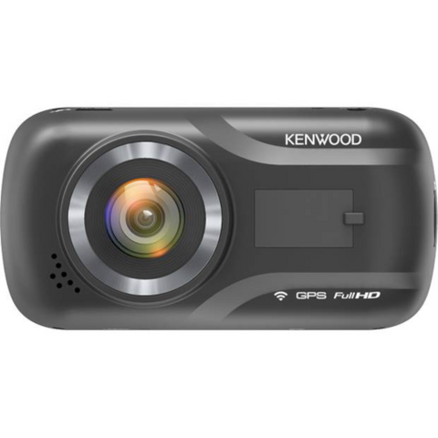 Kenwood HD Dash Cam with GPS and Wi-Fi (DRVA301W) - Extreme Electronics