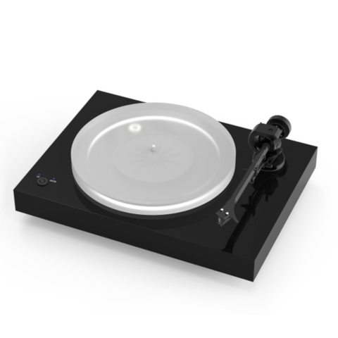 PRO-JECT X2 Turntable, Piano Black with Pick it 2M Silver MM Cartridge - Extreme Electronics