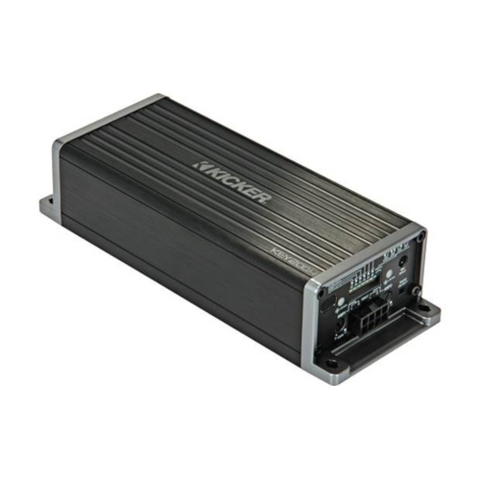 KICKER 4-channel car amplifier with automatic tuning DSP — 50 watts RMS x 4 (47KEY200.4) - Extreme Electronics