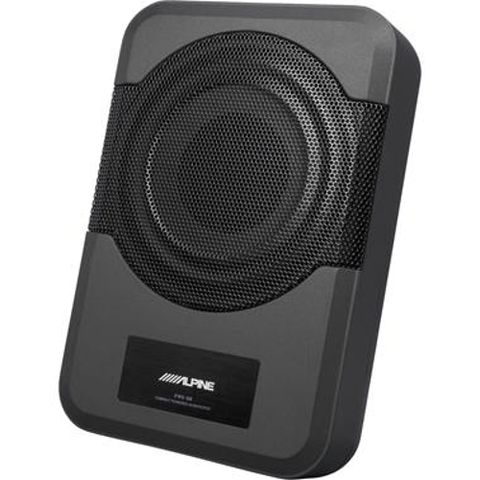 "ALPINE Compact 120-watt powered 8"" subwoofer - Extreme Electronics"