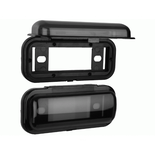 METRA Universal Marine Cover System, Black - Extreme Electronics