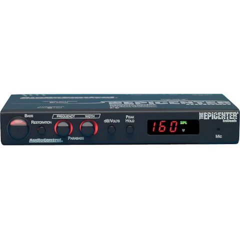 AUDIO CONTROL Epicenter Plus Bass Restoration Processor With SPL/Voltage Display (EPICENTERINDASH) - Extreme Electronics