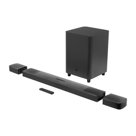 JBL Bar 9.1 True Wireless Surround Sound Bar System with Dolby Atmos (JBLBAR913DBLKAM) - Extreme Electronics