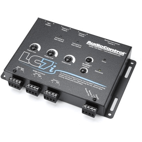 Audio Control 6-channel line output converter with Bass Restoration (LC7i)