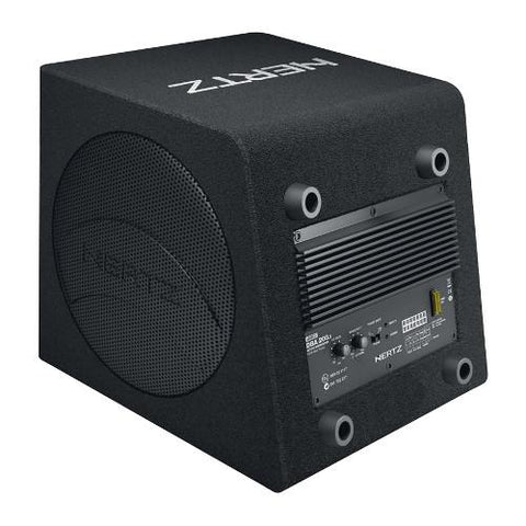 "HERTZ Dieci Amplified Sub Box With 8"" 160W RMS Subwoofer (DBA2003) - Extreme Electronics"
