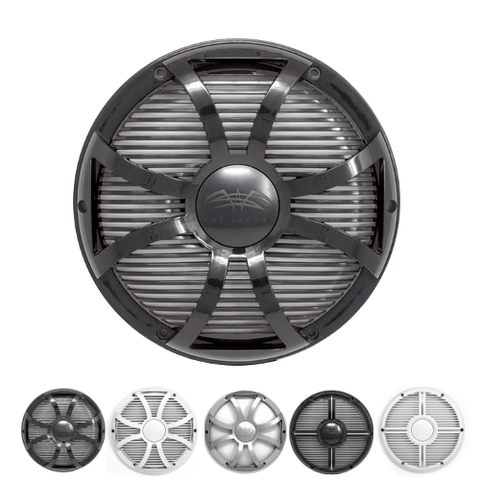 "Wet Sounds Revo 10"" Marine Subwoofer Grille (REVO10SWBGRILL) - Extreme Electronics"