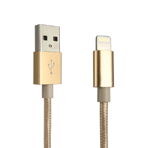 IQ Gold LIGHTNING CABLE, 4 FT (IQAL1G) - Extreme Electronics