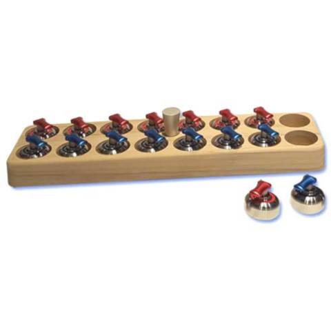 COOL CURLING International Red and Blue Stones (ROCKSRB) - Extreme Electronics