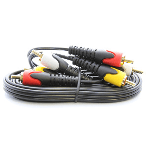 ULTRALINK  A/V Stereo Cable, 6ft