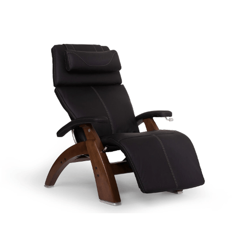 Human Touch Perfect Chair 420 Classic Manual Plus with SofHyde PC Pad and Walnut Base - Extreme Electronics