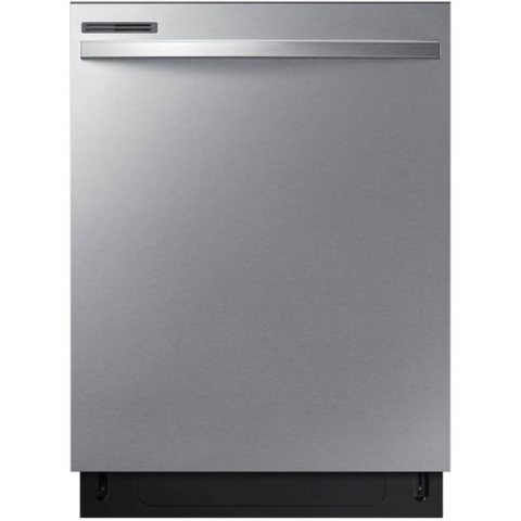"SAMSUNG 24"" Built-In Dishwasher with Digital Touch Controls, Stainless Black (DW80R2031US/AC) - Extreme Electronics"