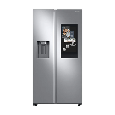 "Samsung Family Hub 36"" 21.5 Cu. Ft. Side by Side Refrigerator - Stainless Steel (RS22T5561SR/AC) - Extreme Electronics"