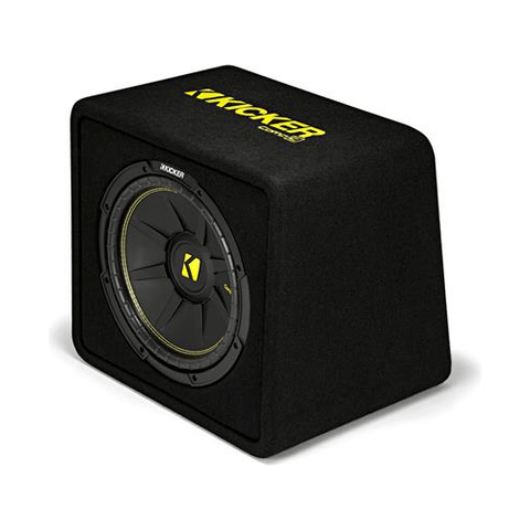 "KICKER CompC Series Ported Enclosure With 12"" Subwoofer, 2 Ohm (44VCWC122) - Extreme Electronics"