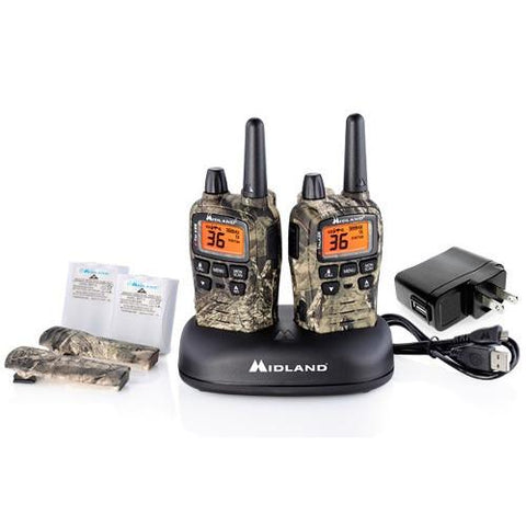 MIDLAND X-Talker Outfitters Camo Radios Up To 38 Miles, Pair - Extreme Electronics