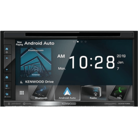 "KENWOOD 6.8"" DVD Touchscreen Multimedia Receiver (DDX6706S) - Extreme Electronics"