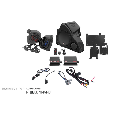 MTX Audio 3-Speaker Audio System for 2014+ Polaris RZR Vehicles with RideCommand (RZR14RC-THUNDER3) - Extreme Electronics