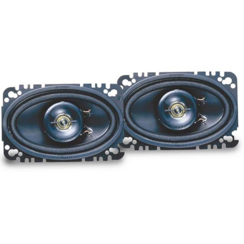 "KENWOOD 4""x 6"" 2-Way Sports Series Speakers, Pair (KFC4675C) - Extreme Electronics"