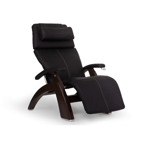 HUMAN TOUCH Perfect Chair 420 Classic Manual Dark Walnut Base With Black Comfort Pad (PC420100002) - Extreme Electronics