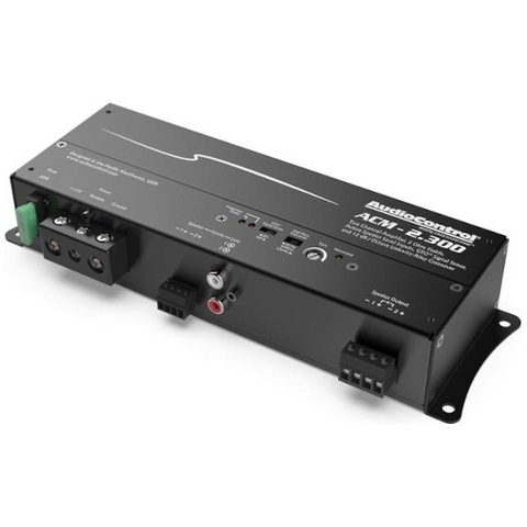 AUDIO CONTROL ACM Series Compact 2 Channel Car Amplifier, 75 watts RMS x 2 (ACM-2.300) - Extreme Electronics