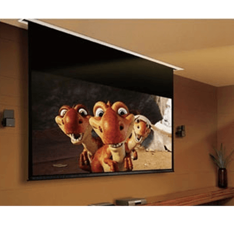 "GRANDVIEW Screens 180"" Recessed Cyber Series Motorized Screen - Extreme Electronics"