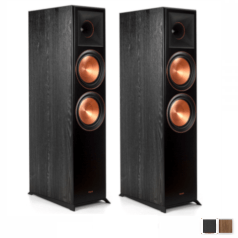 "KLIPSCH Reference Premiere Dual 8"" Woofer Floorstanding Speakers, Pair (RP8000F) - Extreme Electronics"