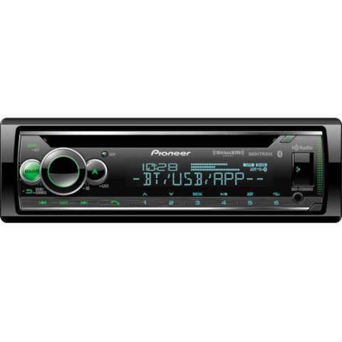 PIONEER CD Receiver With Bluetooth and HD Radio (DEHS7200BHS) - Extreme Electronics
