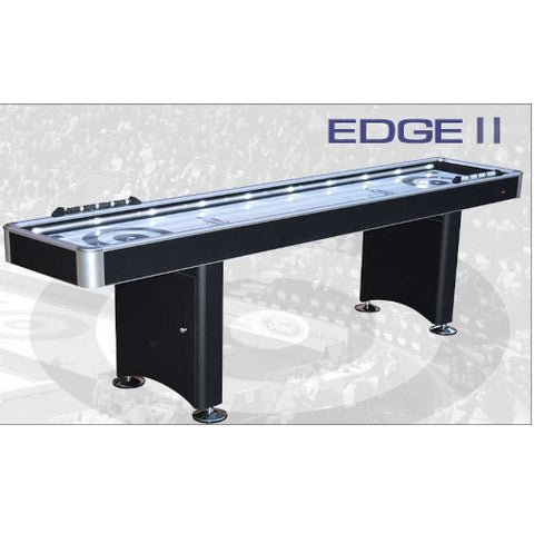 COOL CURLING The Edge II Two in One Table Game, 8 Ft (EDGEII8BK) - Extreme Electronics
