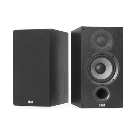 "ELAC Debut 2.0 6 1/2"" Bookshelf Speakers, Pair (DB62BK) - Extreme Electronics"