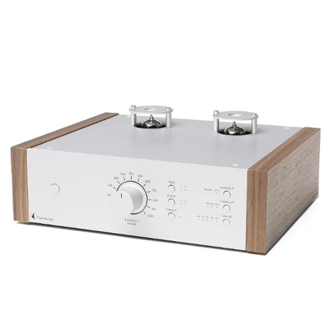 PRO-JECT Tube Box DS2, Silver/Walnut (PJ71652678) - Extreme Electronics