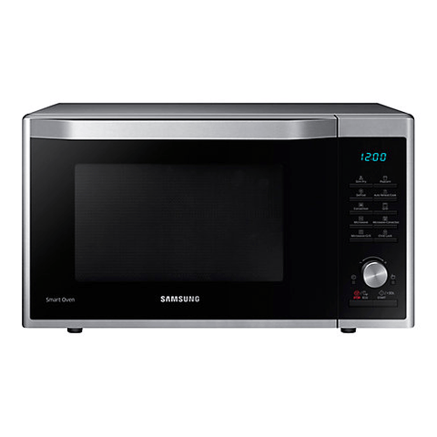 SAMSUNG 1.1 Cu. Ft. Countertop Microwave Oven with Grill and Convection, Stainless Steel (MC11J7033CT/AC) - Extreme Electronics