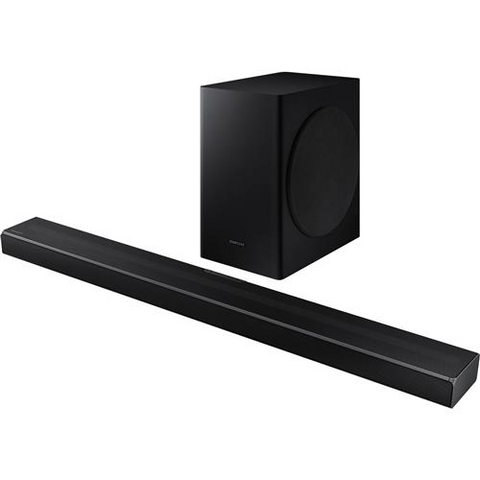 SAMSUNG HW-Q60T 5.1 Channel 360 Watt Soundbar with Subwoofer, Dolby Digital and DTS Virtual:X (HWQ60T) - Extreme Electronics