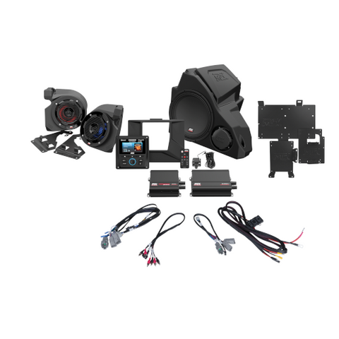 MTX Audio 3-Speaker Audio System for 2014+ Polaris RZR Vehicles (RZR14-THUNDER3) - Extreme Electronics