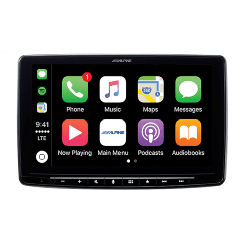"ALPINE 7"" Mech-Less AV Receiver with Apple CarPlay and Android Auto for Toyota Tacoma (ILXF309TCM) - Extreme Electronics"