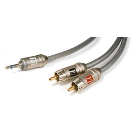 ULTRALINK Caliber MP3 Stereo Y Cable, 2 M (CALMP32M) - Extreme Electronics