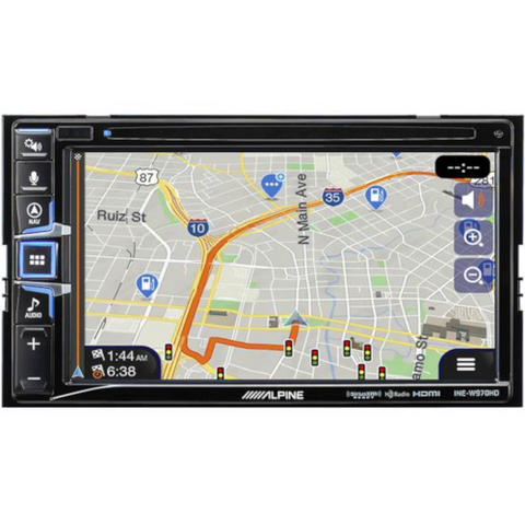 "ALPINE 7"" DVD/CD Navigation Receiver (INEW970HD) - Extreme Electronics"