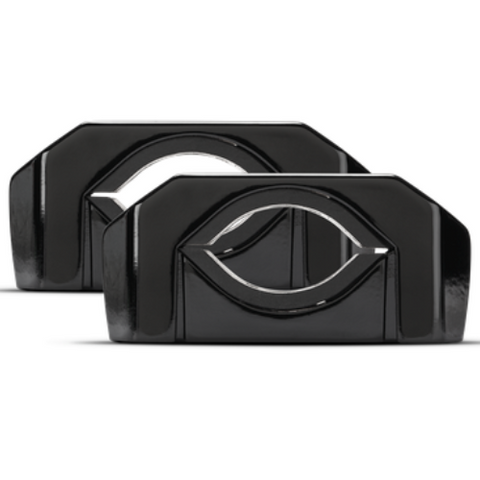 ROCKFORD FOSGATE Black Motorsport Can Clamps  (PM-CL2B) - Extreme Electronics