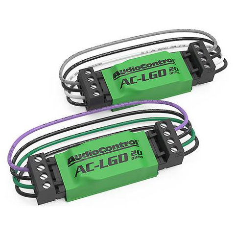 AUDIO CONTROL Load Resistors for Select 2015-Up Chev/Chrysler Vehicles, Pair (AC-LGD20) - Extreme Electronics