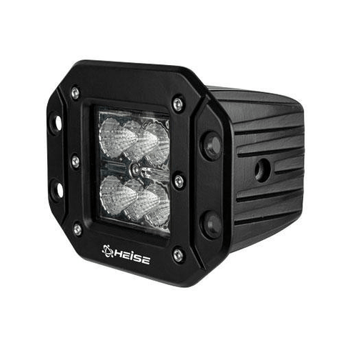 "HEISE Cree 3"" 6 LED Flush Mount Cube Light (HEFMCL3) - Extreme Electronics"