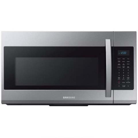 SAMSUNG 1.9 Cu .Ft. Over The Range Microwave Oven with Eco Mode, Stainless Steel (ME19R7041FS/AC) - Extreme Electronics