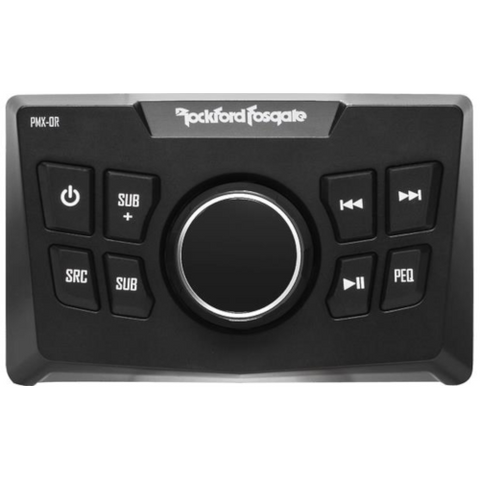 ROCKFORD FOSGATE Wired Marine Remote for Select PMX Series Receivers (PMX0R) - Extreme Electronics